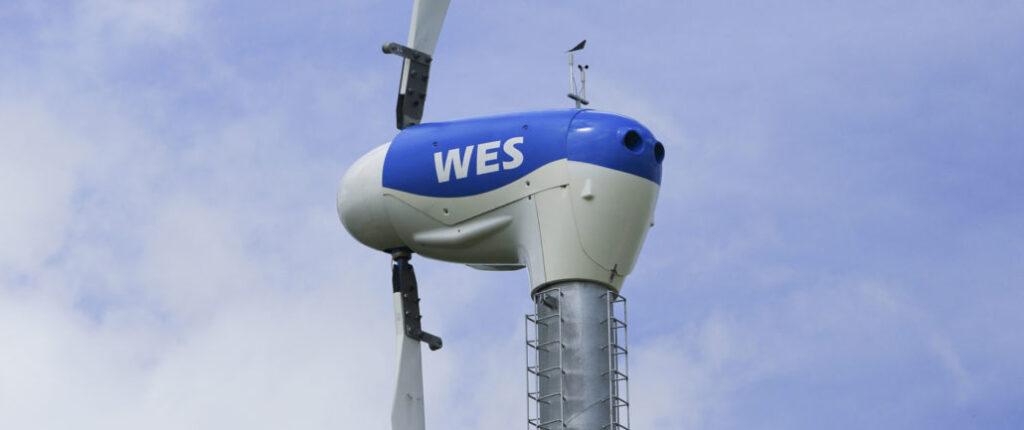 Nieuw in opdracht: Vormvrije kappen WES windturbine